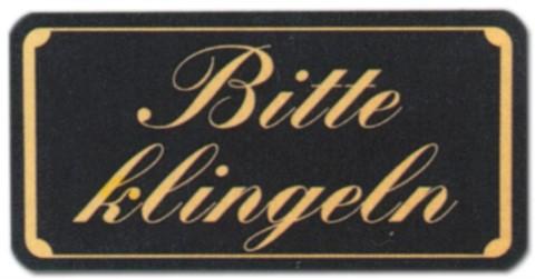 Hinweisschild - Gastronomieschild braun - Bitte klingeln - Klingel Gastronomie Hotel Restaurant Wirtschaft Kneipe Bistro Cafe Eiscafe Gelateria Schild Warnschild