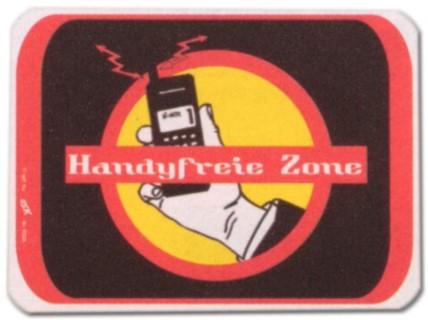PST-Schild - Handyfreie Zone - Handy Cellphone Schild Spaßschild Spaß Spassschild Spass Funschild Fun Fun-Schild Türschild Tür Kunststoff Geschenk Geburtstag
