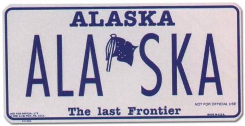 PST-Schild - Alaska - Hund Huski Schild Warnschild Warnzeichen Arbeitssicherheit Türschild Tür Kunststoff Geschenk Geburtstag