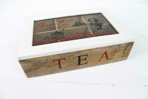 Teebox Home Made Cuisine - Tee Box - Cotton Landhaus Shabby