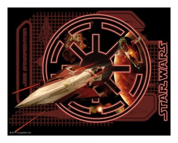 STAR WARS - Extreme 3D Mousepad - 5 - Delta-7B Abfangjäger - 3D Mauspad