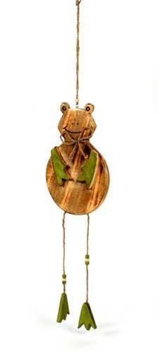 Deko Hänger - Frosch Rana - groß - aus Holz 60cm