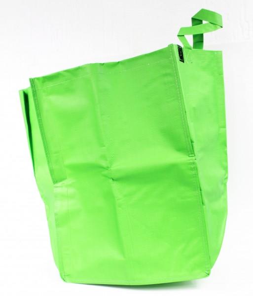 Gartenabfall Sammler aus reißfestem Kunststoff - Tasche, grün