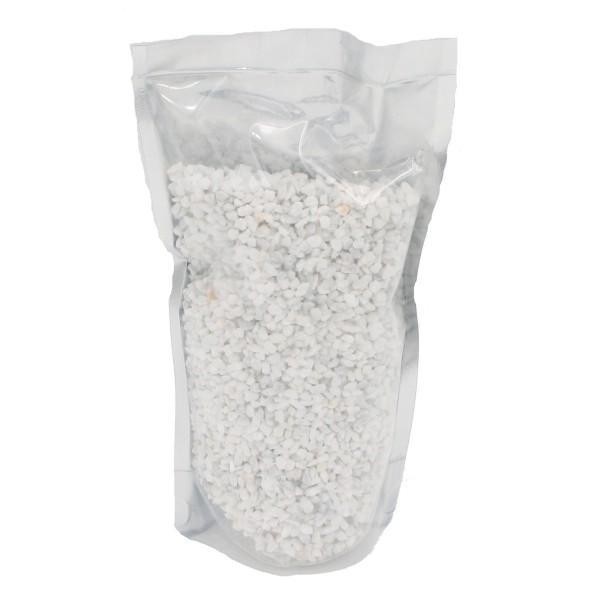 Edles Dekogranulat ~ weiß ~ 500g ~ Deko Steinchen zum Streuen und Dekorieren