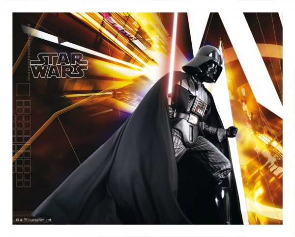 STAR WARS - Extreme 3D Mousepad - 4 - Darth Vader - 3D Mauspad
