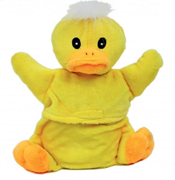 Kinder Körnerkissen - ENTE - Baby Plüsch Teddy Körner Wärmflasche in Box