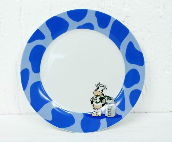 TELLER BLAU - Teller oder Tasse mit Kuh Motiv in rot oder blau - FLIRT Ritzenhoff & Breker