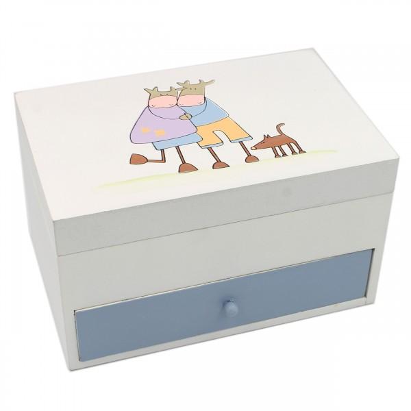 Süße Dose mit Schublade ~ Kuh ~ nicht nur für Kinder ~ 12,5 x 19 x 11 cm