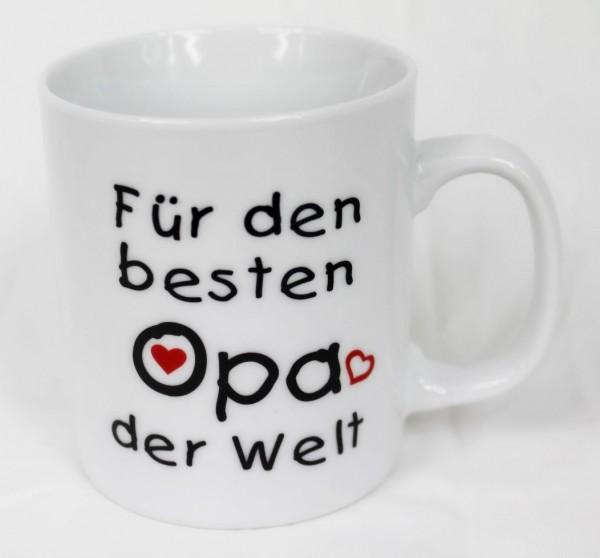 Tasse - Für Meinen Aller, Aller, Allerliebsten besten Opa - Family Familie Kaffee Kaffeetasse Geschenk Geburtstag …