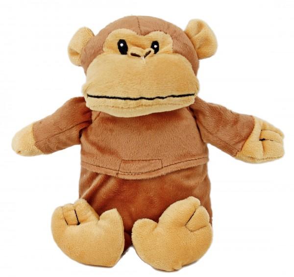 Kinder Körnerkissen - AFFE - Baby Plüsch Teddy Körner Wärmflasche in Box