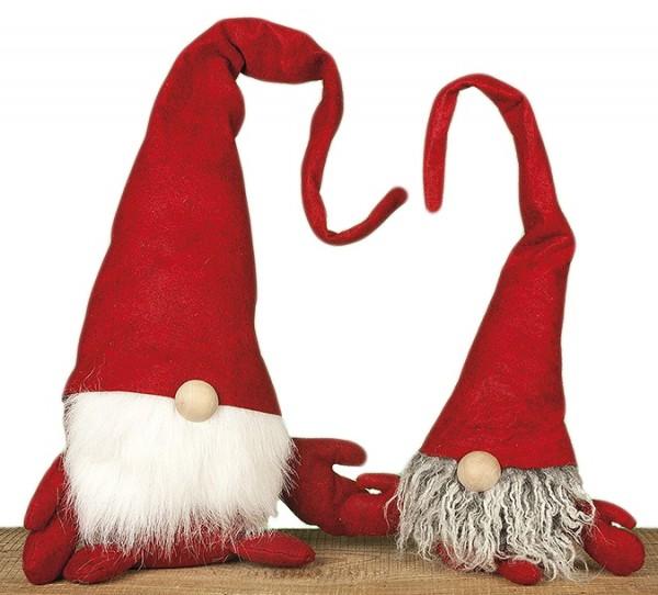 Weihnachts Wichtel ~ in groß, klein oder als 2er Set erhältlich ~ rot ~ schöne Deko