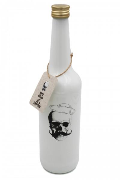 Glas-Flasche mit Schraubverschluss, Pirat Jack, weiß 0,7l maritim, Pirate Serie Zauberwerk by Ritzenhoff & Breker
