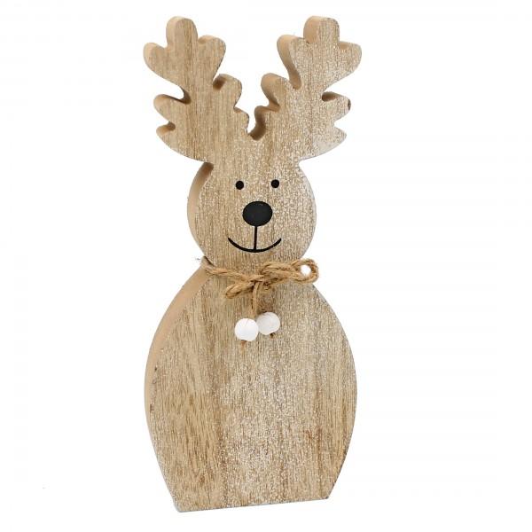 Massive Elch Figur aus Holz ~ 2,5cm dick und 25cm hoch ~ super süße Deko